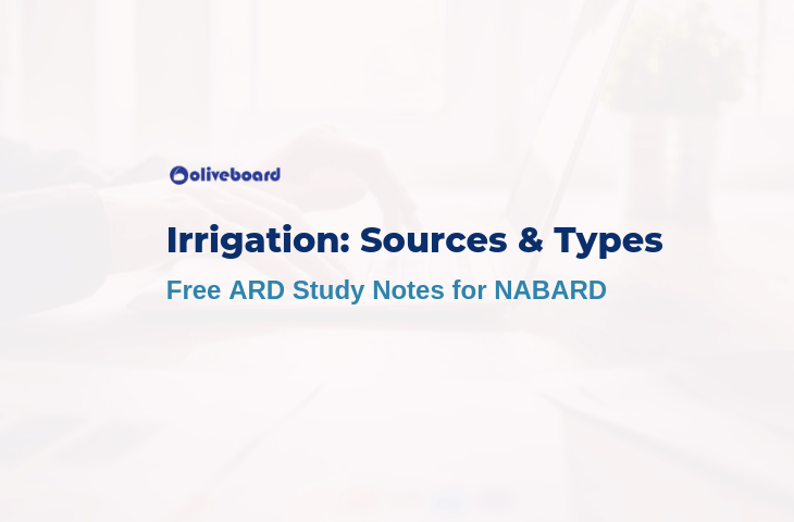 nabard ard notes irrigation