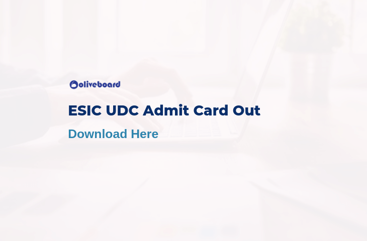 esic udc admit card 2019