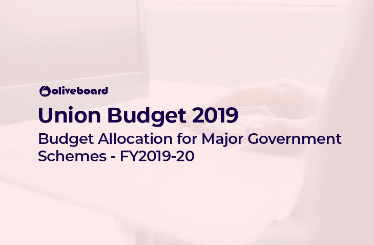 Government Schemes Budget Allocation 2019