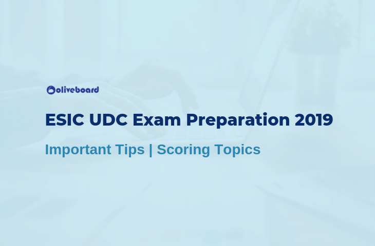 ESIC UDC Preparation Tips