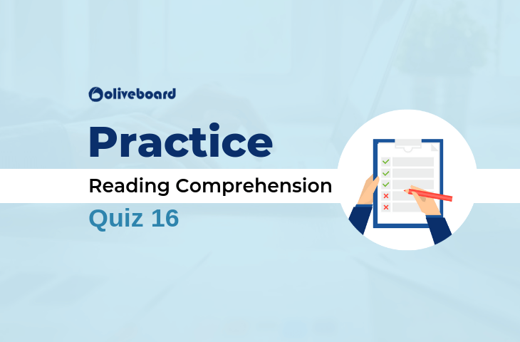Reading Comprehension Quiz 16