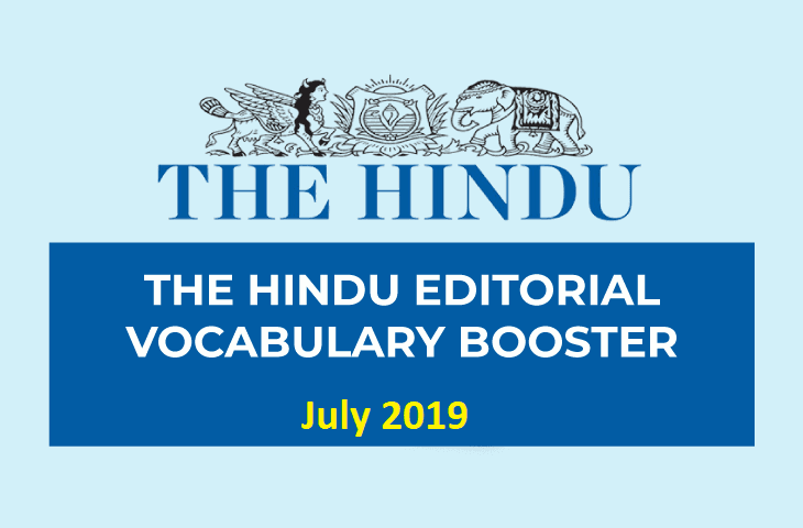 Vocabulary Booster July 2019