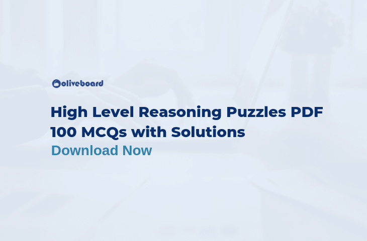 High Level Reasoning Puzzles PDF