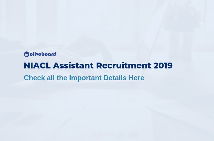NIACL Assistant Recruitment 2019