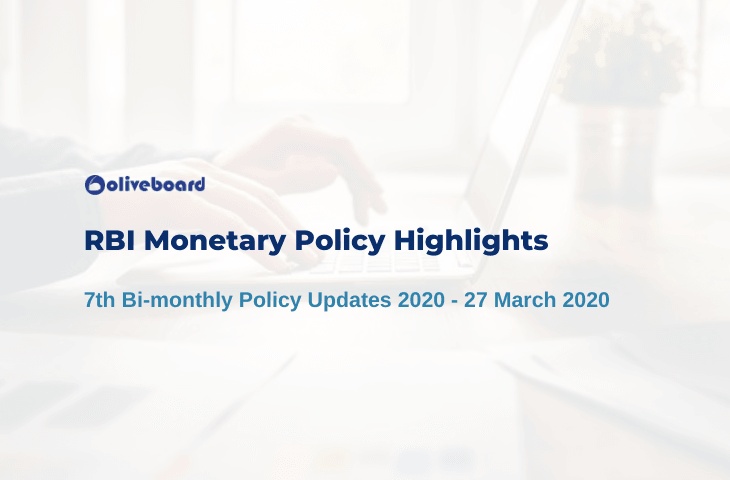 RBI Monetary Policy Highlights