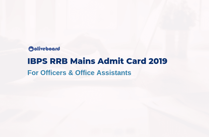 IBPS RRB Admit Cards 2019