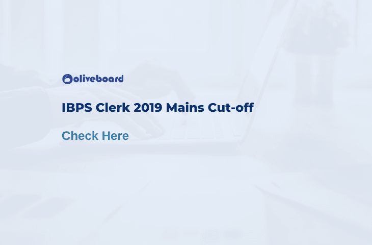 IBPS Clerk Cut Off