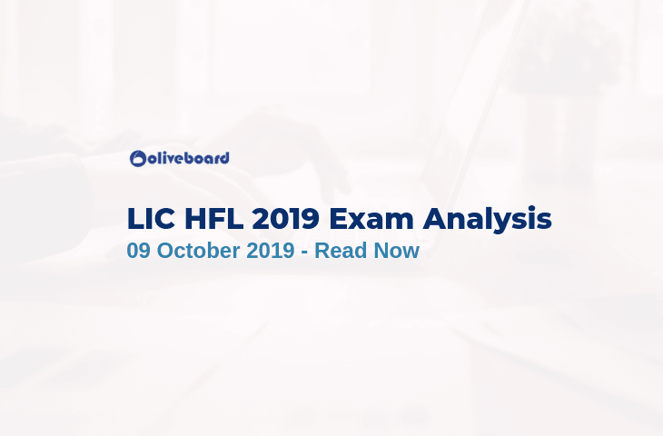 LIC HFL 2019 Exam Analysis