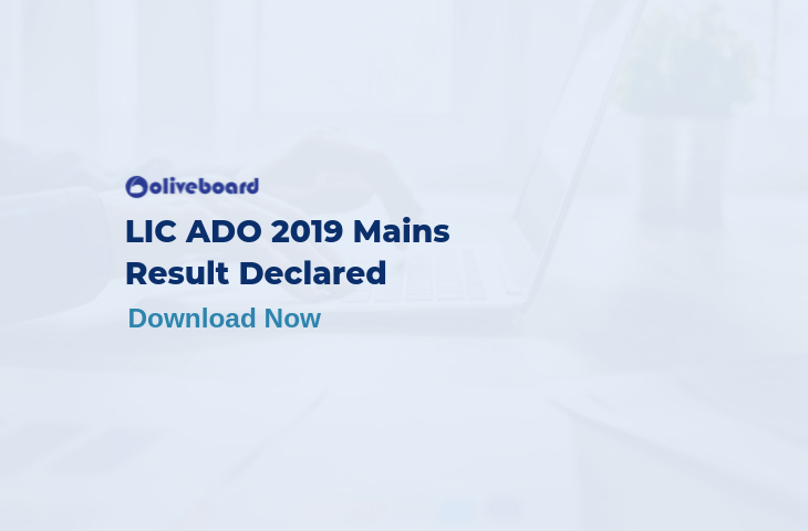 LIC ADO 2019 Mains Result