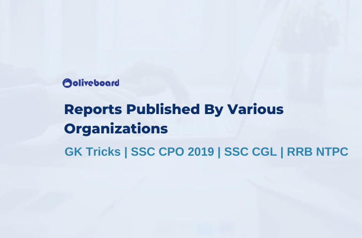 Reports Published By Various Organizations
