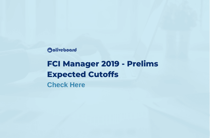 FCI Manager Prelims Expected Cutoffs 2019