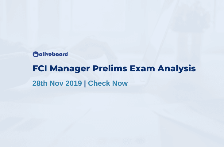 FCI Manager Prelims Exam Analysis