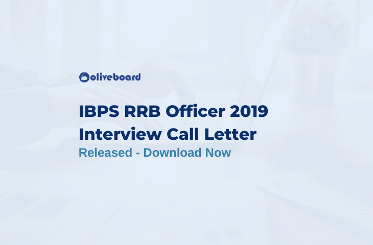 IBPS RRB Officer Interview Call Letter