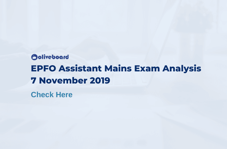 EPFO assistant mains exam analysis