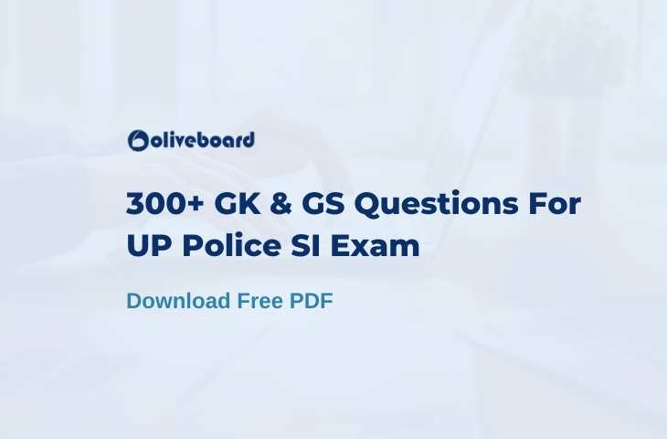 gk gs questions for up si