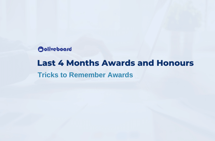 Last 4 Months Awards and Honours