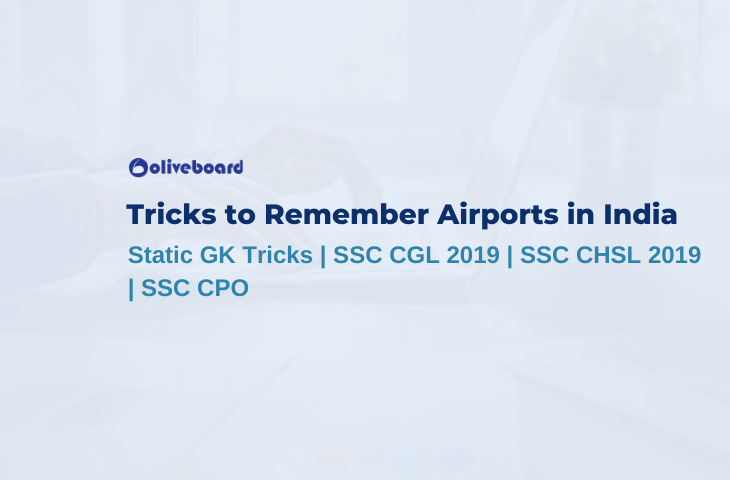 Tricks to Remember Airports in India