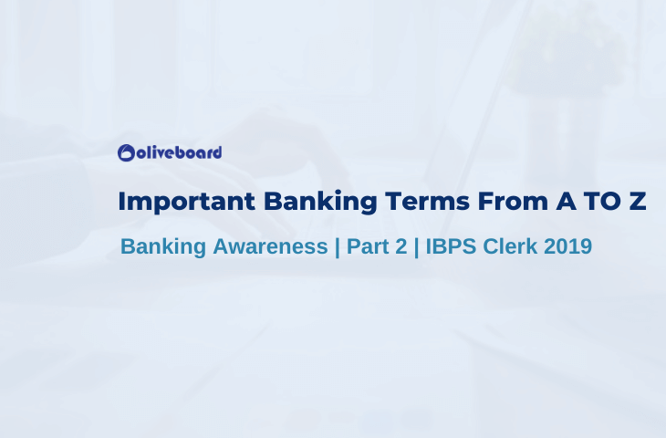Important Banking Terms From A TO Z