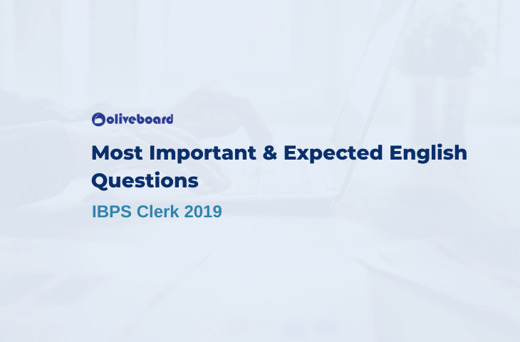 Most Important & Expected English questions