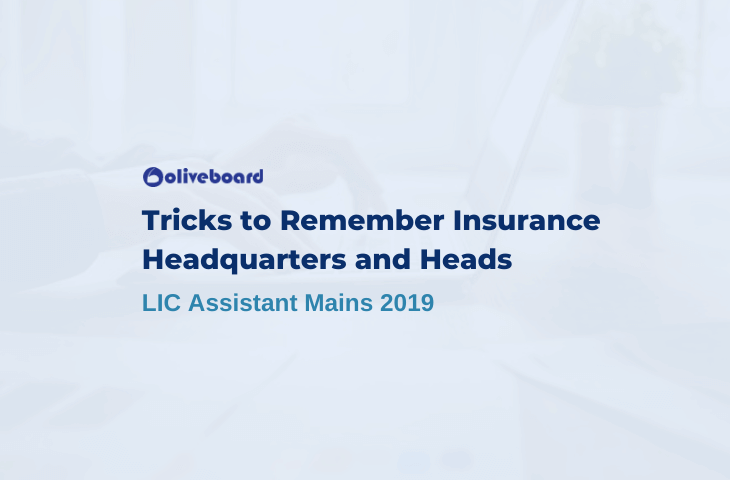 Tricks to Remember Insurance Headquarters and Heads