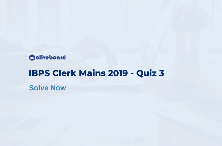 IBPS Clerk Quiz 3
