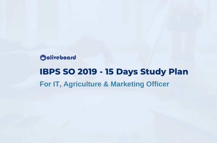 15 Days IBPS SO Preparation Plan 2019