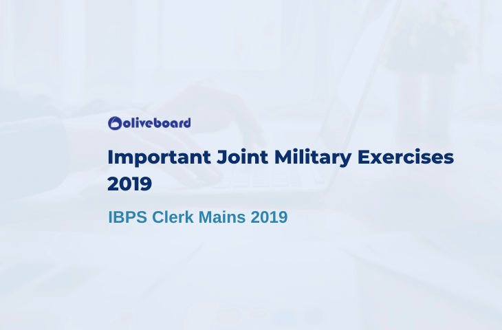 Important Joint Military Exercises 2019