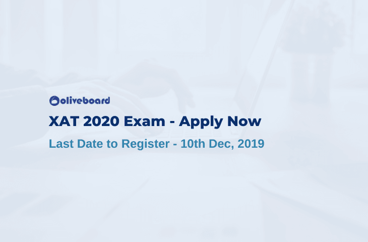 XAT 2020 Registration Last Date
