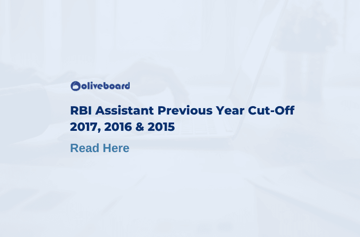 RBI Assistant Previous Year Cut Off