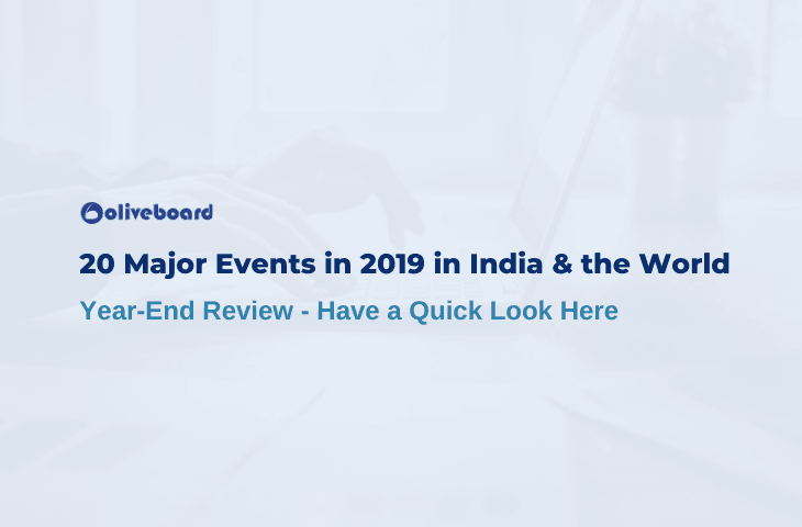 Major Events in 2019