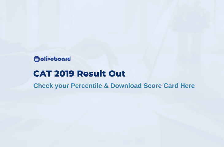 CAT 2019 Result Out