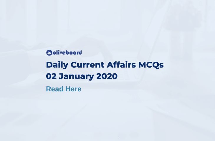 Daily Current Affairs MCQ 2 January 2020