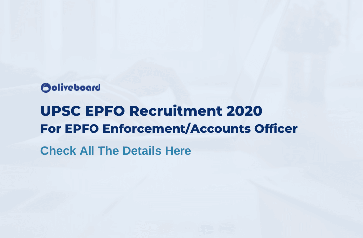 EPFO Enforcement Officer Recruitment 2020