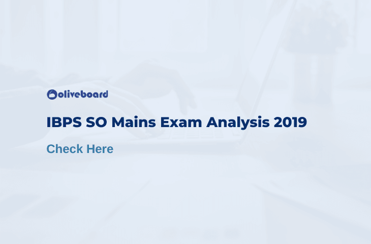 IBPS SO Mains Analysis