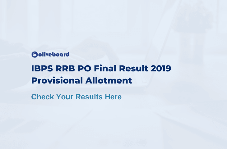 IBPS RRB PO Final Result 2019