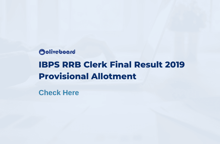 IBPS RRB Clerk Final result 2019