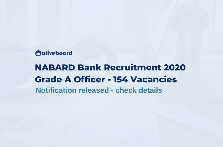 NABARD Bank Recruitment 2020