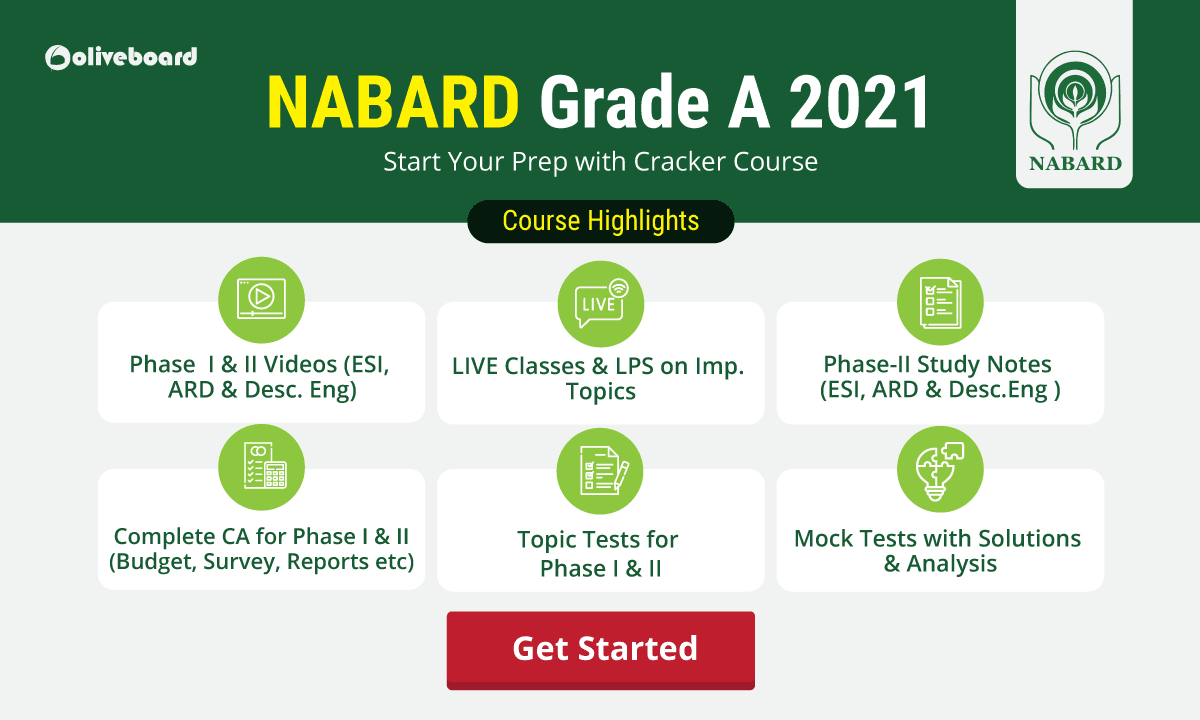 NABARD Grade A Online Course