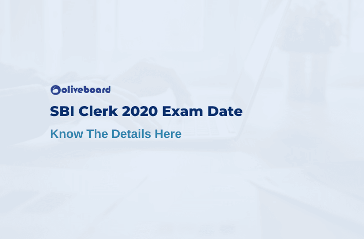 SBI Clerk 2020 Exam Date
