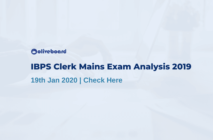 ibps clerk mains exam analysis 2019