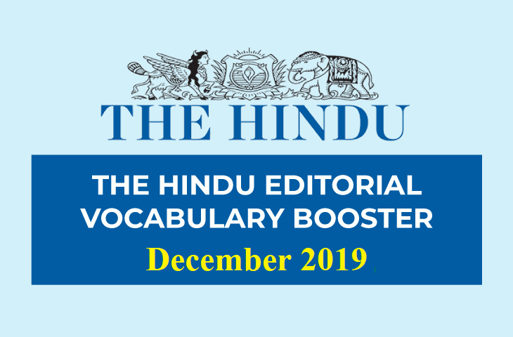 Vocabulary Booster December 2019