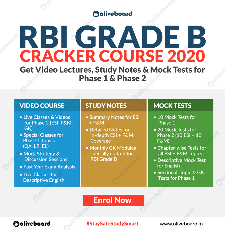 RBI Grade B Online Coaching - Online Course , Classes
