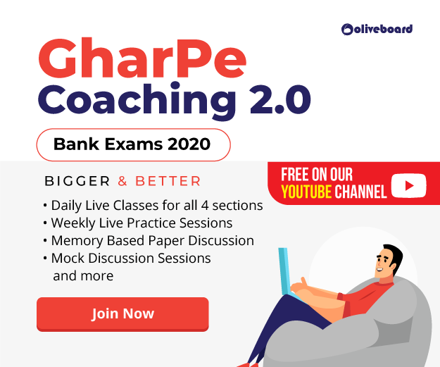 Free daily Online Classes for Bank Exams