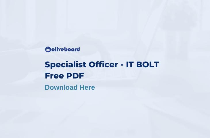Specialist IT Officer Notes