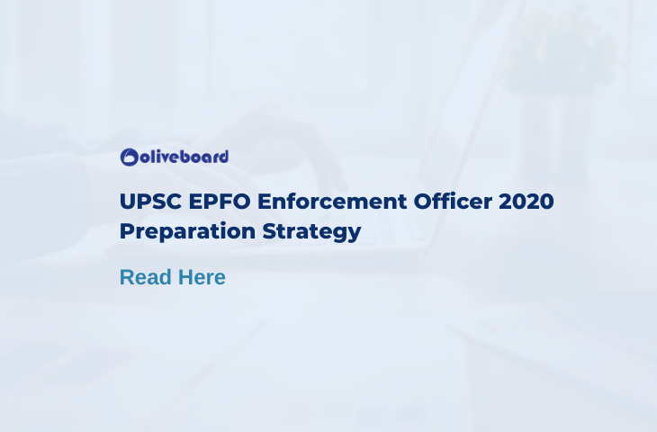 UPSC EPFO Enforcement Officer Preparation Strategy