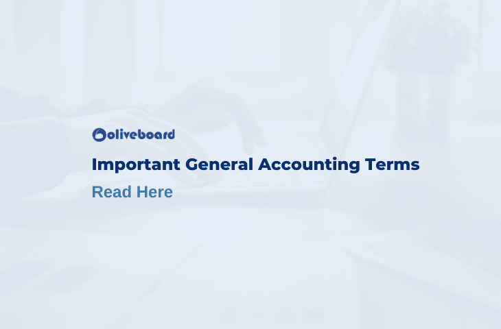 important accounting terms
