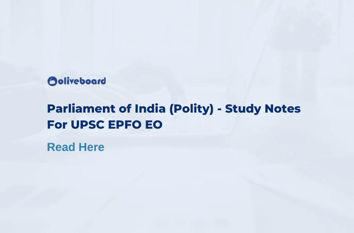 parliament of india study notes