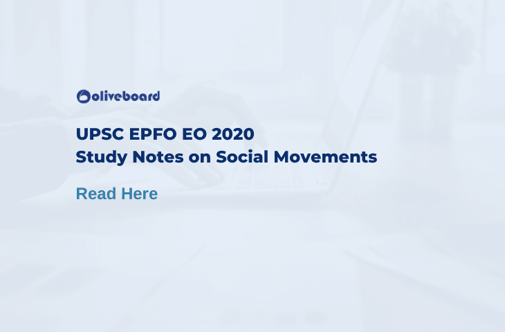 Social Movements Notes For UPSC EPFO EO