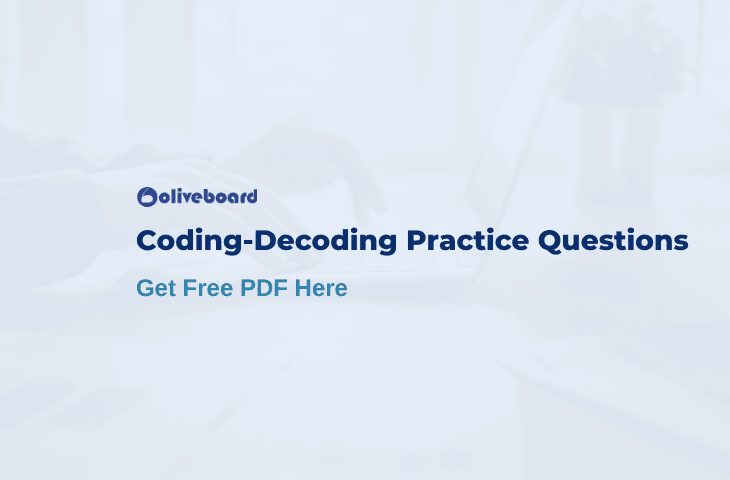 Coding decoding practice questions