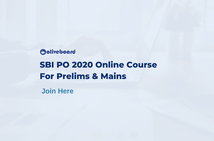 SBI PO Online Course